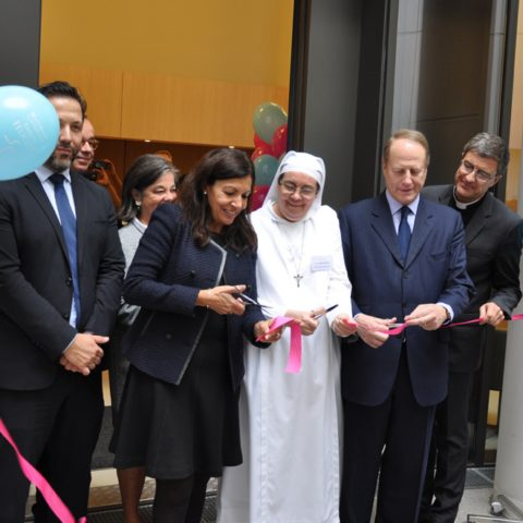 Inauguration Maternité Catholique Sainte Félicité Paris
